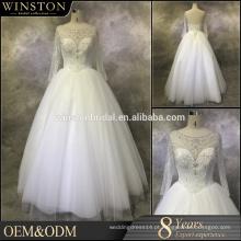 Melhor vestido de noiva de cintura com queda de qualidade