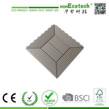 WPC Engineered Floor Type Interlocking Decking Tiles