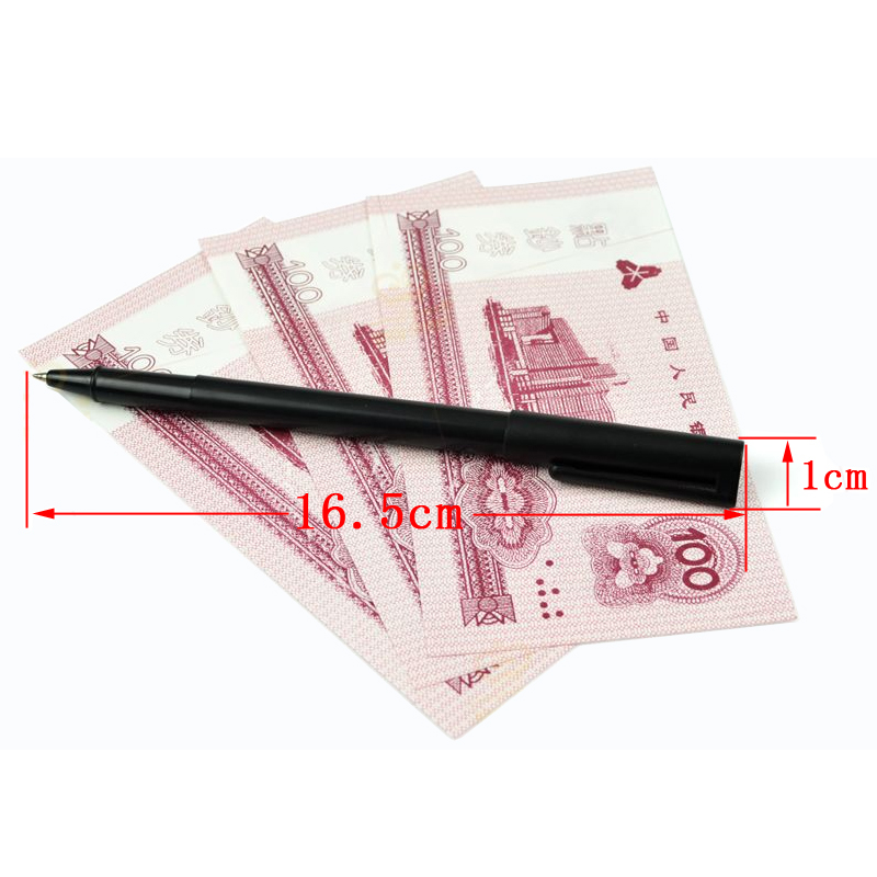 Pen penetrates banknotes magic