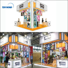 Portable event exhibition booth design services,easy booth display