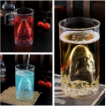 custom wine double wall glass cup