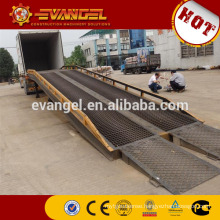 CE-approved 3-side container loading ramp