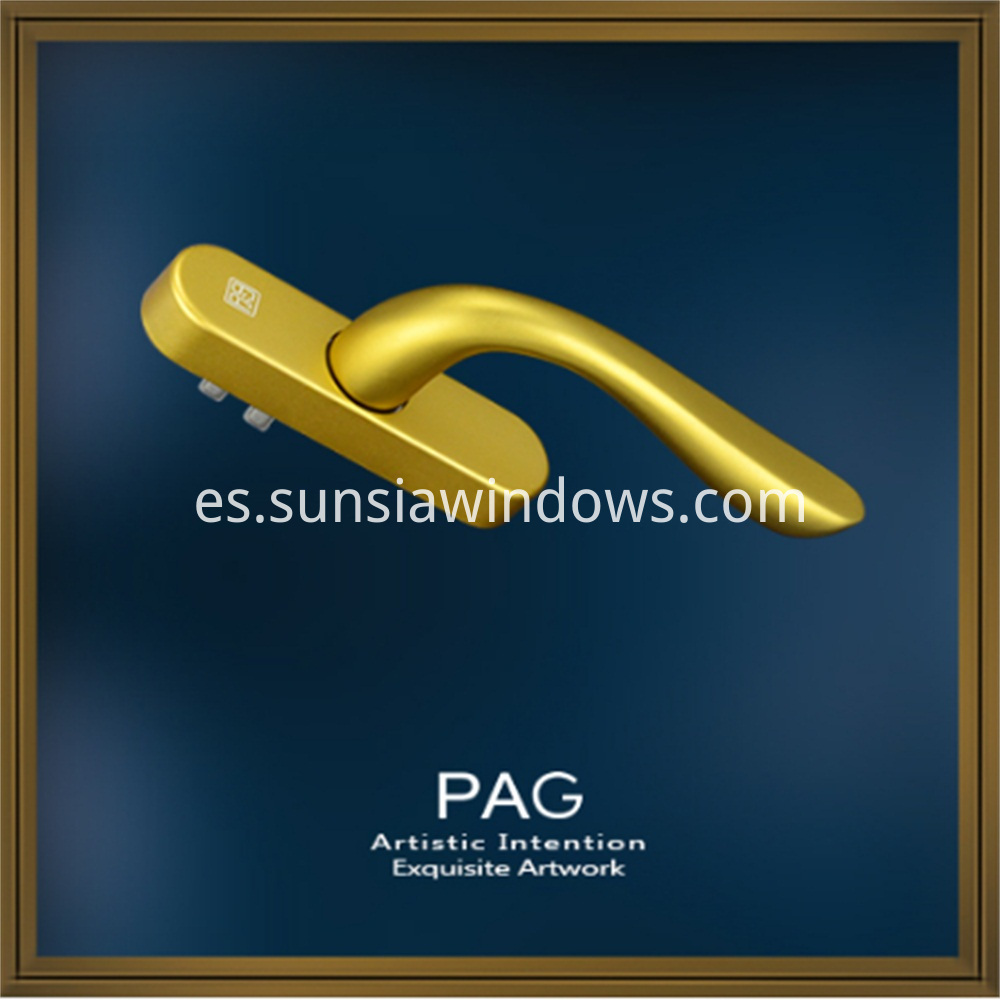 PAG Double Sided Fancy Door Pull Handle 1