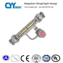 Cyybm56 Magnetisches Füllstandsmessgerät für Lagerbehälter Zylinder