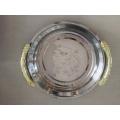 Пластины золотой зарядное устройство, роскошные тарелки стиль для домашнего декора