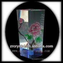 Beau vase en cristal L015