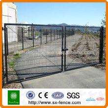 Дизайн окрашенных железных ворот из ПВХ, дизайн ворот