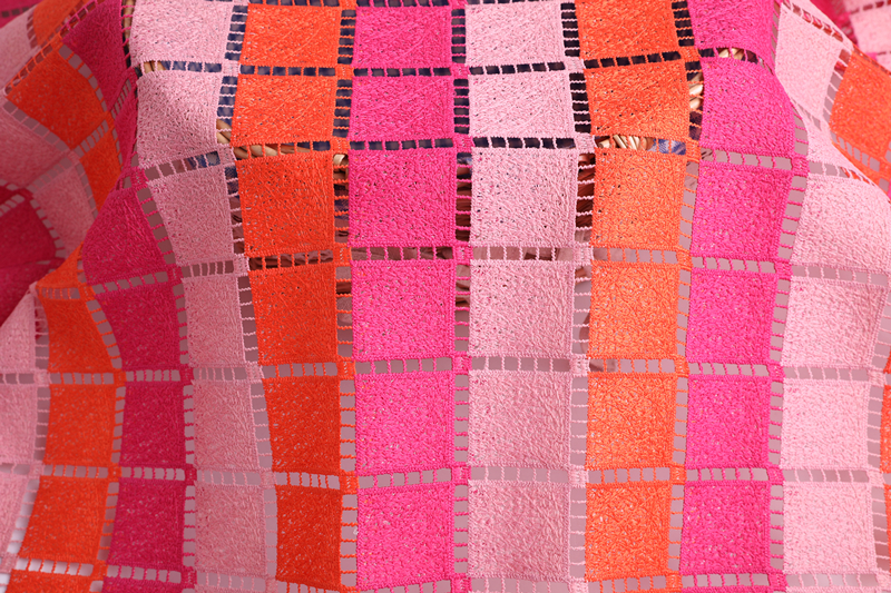 Square Chemical Lace Fabric