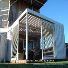 obturador de aluminio ajustable al aire libre