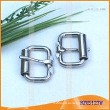 Tamaño interior 25.5mm Hebillas de metal para zapatos, bolsa o cinturón KR5127