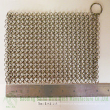 2015 Alibaba China fornece alta qualidade de ferro fundido Pan Cleaner aço 316 corrector de correio de cadeia