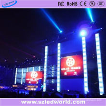Panneau de panneau d'affichage numérique de l'intense luminosité LED de P6 SMD