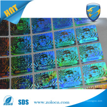 Serial number hologram sticker holographic void sticker 3D hologram sticker
