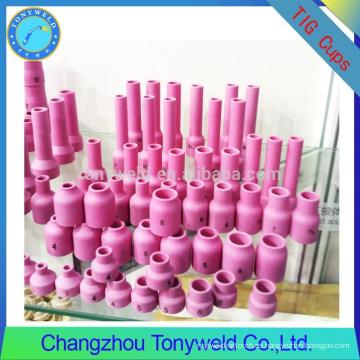 Boquilla de cerámica taza de cerámica para boquilla de soldadura tig