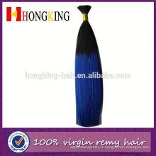 Cheveux humains crus teints en vrac Alibaba Express Gold fournisseur Remy cheveux en vrac