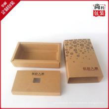 Diseño de caja de empaquetado de papel personalizado elegante
