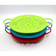 Multifunction Silicone Steamer Draining Basket Foldable Steamer Basket