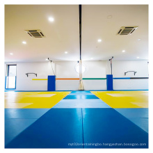 LinyiQueen tatami judo matt for 2x1 cushion vinly fabric cometition judo wrestling mat tatami judo mat