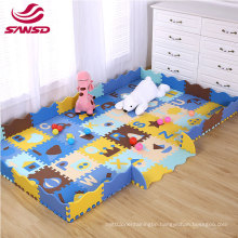 soft non-toxic foam baby colorful kids playroom squares foam floor  interlocking tiles  jigsaw puzzle  toddler play mat