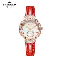Женские часы SKYSEED с алмазным водонепроницаемым кварцем