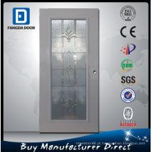 Porta de vidro interna de Fangda, usada como a porta do toalete