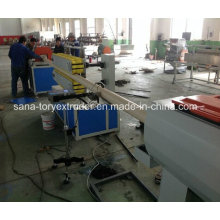 Línea de extrusión de tuberías de PVC / PE / PPR / Maquinaria plástica