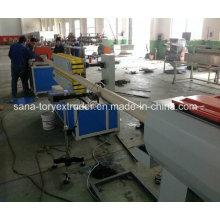 Ligne d'extrusion de tuyau de PVC / PE / PPR / machines en plastique