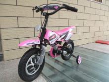 Розовый мотоцикл детей велосипед детский велосипедов