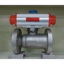 Pneumatic Flanged 1 Piece Foged Steel Ball Valve