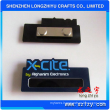 Wholesale Metal Name Brand Tag with Printing Logo and Magnet