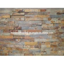 Ledgestone Slate Panel Rusty Slate