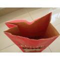 Holz Holzkohle Kraft Papier Tasche