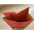 Wood Charcoal Kraft Paper Bag