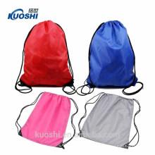 Sacs à dos en nylon 420d cordon de sac à dos