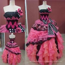 Robes de Quinceanera en véritable robe de bal