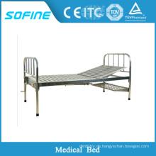 SF-DJ106 Edelstahl Medizinische Geräte manuelle Krankenhausbett