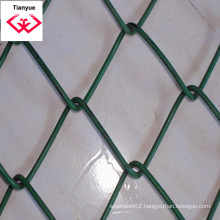 Electro and PVC Coated Chain Link Fence