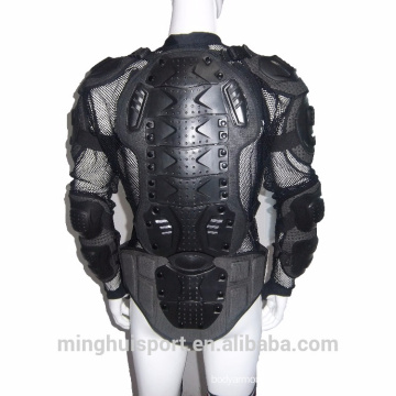 Motorcycle body armour and vests, vigorous exercise armor