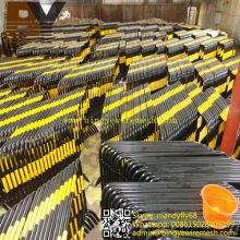 Barrera de control de tráfico galvanizado de alta calidad Barrera de control de multitud