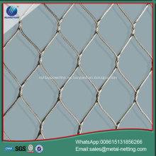 malla de cable de malla de cuerda galvanizada
