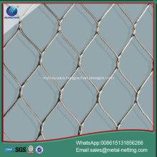 wire rope netting galvanized rope mesh