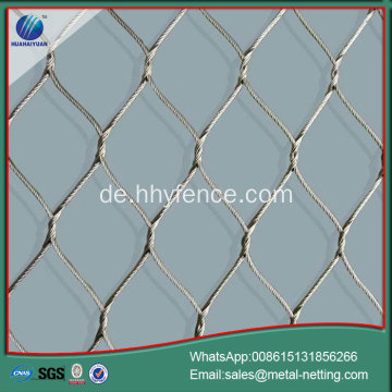 China Drahtseil Netz verzinkt Seil Mesh Hersteller
