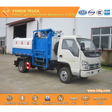 Foton side loader garbage truck light truck 3m3
