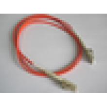 Pare-câble à fibres optiques Cordon à câble LC-LC patchcord à démarrage court Multimode 50/125 2mm Livraison gratuite