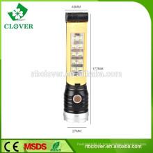 Promocionais lanternas LED multifunções de alumínio de alta potência estilo lanterna