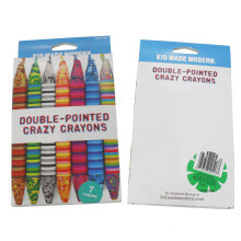 7 pcs artist professional drawing mixed color wax crayon