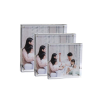 APEX 5x7 Transparent Acrylic Decor Photo Frame