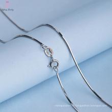 Chaîne de serpent en argent 925 de bijoux en gros de mode pour des femmes