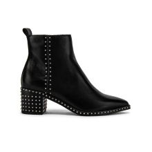 Leather Boots Wholesale Block Low Heel Classic Elegant Top Quality Customized for Lady