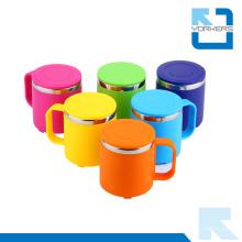 Taza de acero inoxidable de colores y taza de agua para niños